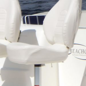 Mid Back Fishing Chair and Pedestal