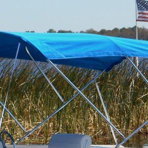 9' Standard Sunbrella Fabric Bimini Top Kit