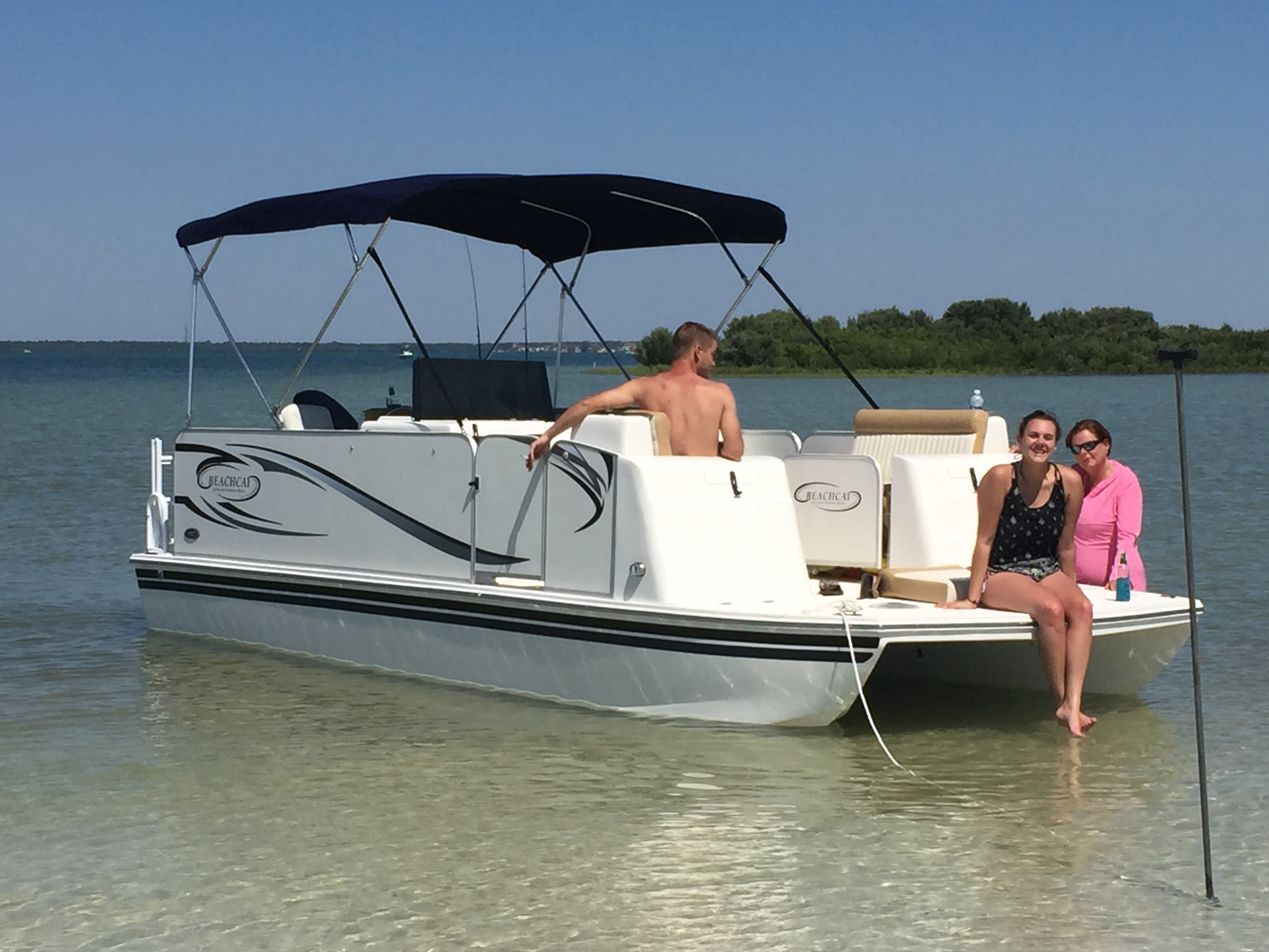 On Saltwater Rather You Pontoon Be Boats The Wouldn't – Water Beachcat